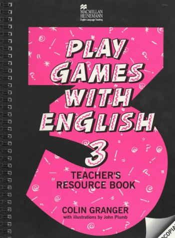 9780435250188: Play Games with English, 3. Teacher's resource book