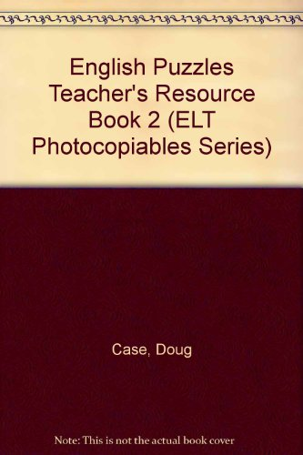 9780435250850: English Puzzles: Teachers' Resource Book No. 2 (Heinemann Games)