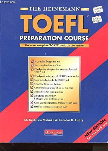9780435263003: The Heinemann Toefl Practice Tests