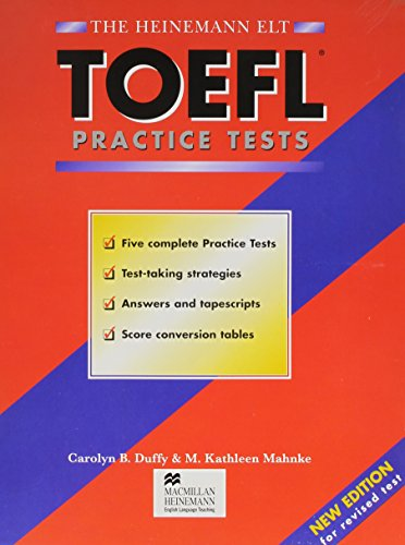 9780435263225: Toefl Practice Tests