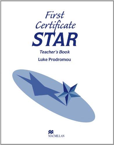 9780435281458: First Certificate Star: Teacher's Book (Exams)