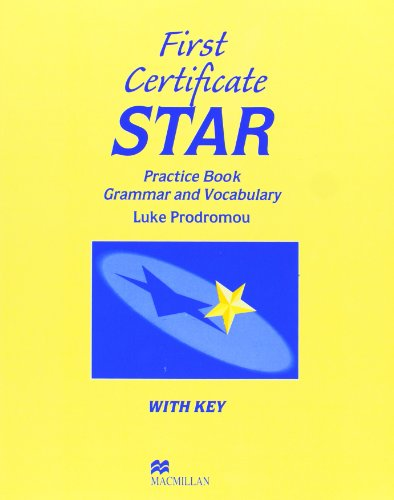 9780435281526: First Certificate Star. Workbook with Key: Practice Book with Key