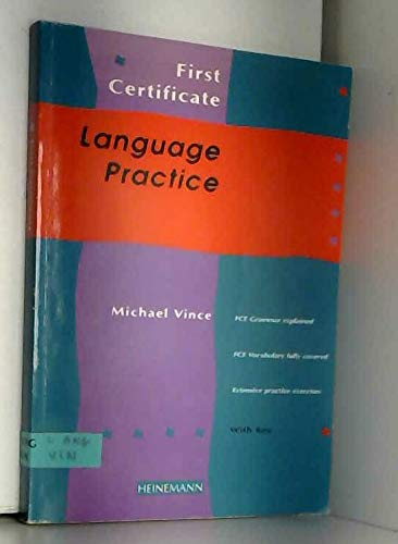 9780435281649: First Certificate Language Practice: Students' Book