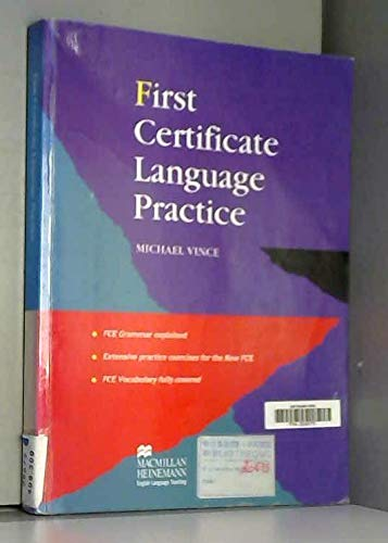 9780435281670: First Certificate Language Practice: Without Key (English and Spanish Edition)