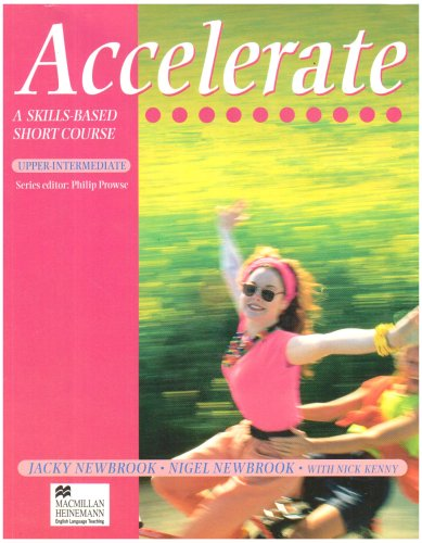 9780435282691: Accelerate Upper Intermediate: Student's Book