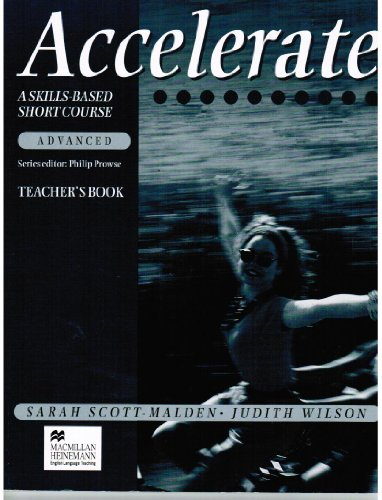 9780435282769: Accelerate Advanced: Teacher's Book