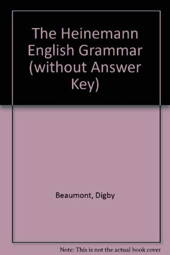 9780435283643: The Heinemann English Grammar (without Answer Key)