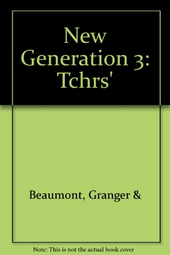 9780435283988: New Generation 3: Tchrs'