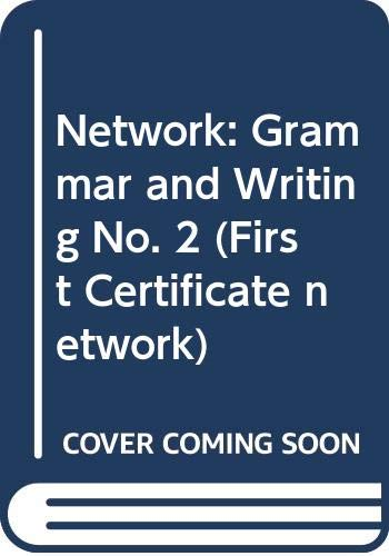 Network: Grammar and Writing No. 2 (First: Tomscha, Terry, Lane,