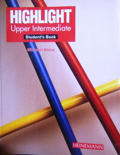 9780435286316: Highlight: Upper-Intermediate Student's Book (Col. Highlight)