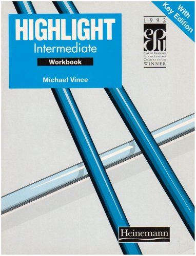 Highlight: Intermediate: Workbook with Key (9780435286347) by Vince, Michael