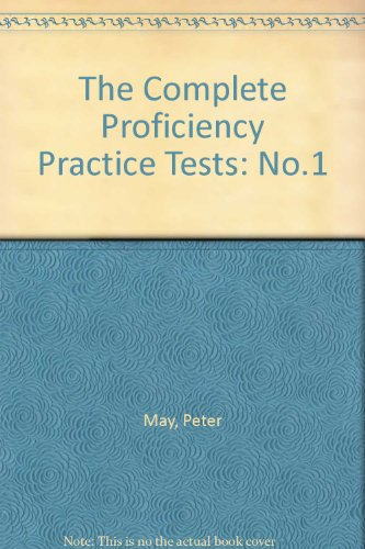 9780435288020: The Complete Proficiency Practice Tests: No.1 (Collection Prof)