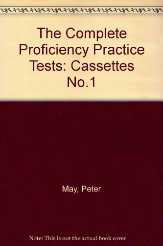 9780435288044: The Complete Proficiency Practice Tests: Cassettes No.1 (Collection Prof)