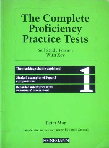 9780435288051: The Complete Proficiency Practice Tests: With Key No.1 (Collection Prof)