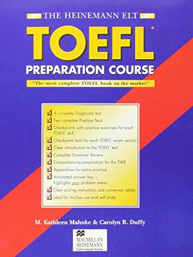 9780435288402: The Heinemann Toefl Preparation Course: With Answer Key