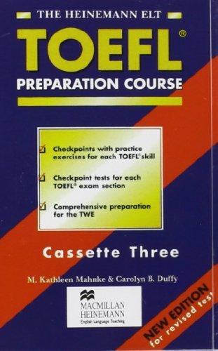 9780435288419: The Heinemann Toefl Preparation Course: Coursebook Cassettes
