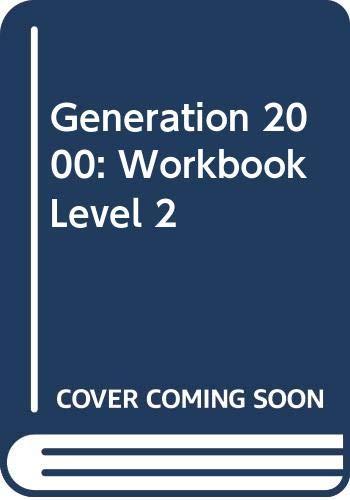 9780435292348: Generation 2000 2 (new generation)cuaderno de ejerciciosworkbook: Workbook Level 2