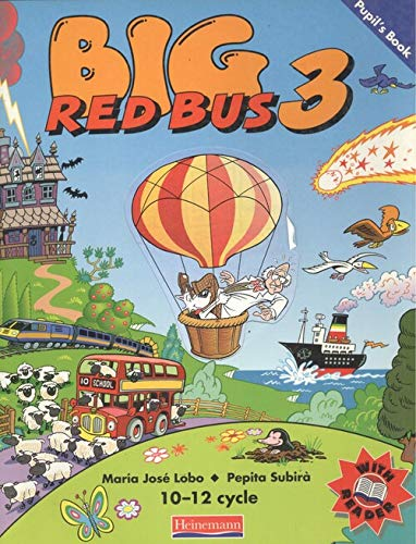 9780435293994: Big Red Bus: 3: Pupil's Book (Spanish Edition)