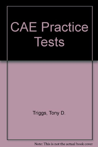 9780435294854: CAE Practice Tests (Collection Prof)