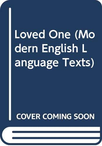 9780435299309: Loved One (Modern English Language Texts)