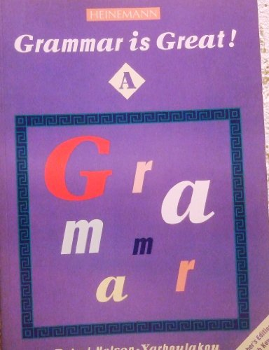 9780435299484: Grammar is Great A TB