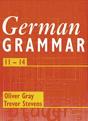 9780435305222: German Grammar 11-14