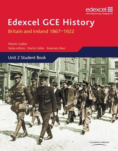 9780435308278: Edexcel GCE History Unit 2 D1 Britain and Ireland 1867-1922