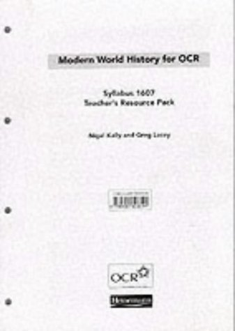 9780435308544: Modern World History for OCR syllabus 1607 (OCR Modern World History 2009)