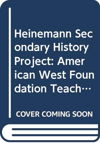 9780435308759: Heinemann Secondary History Project: American West Foundation Teachers resource pack