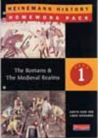 9780435310554: Heinemann History Homework Pack 1 (Year 7): The Romans/The Medieval Realms No. 1 (Heinemann History Homework Packs)
