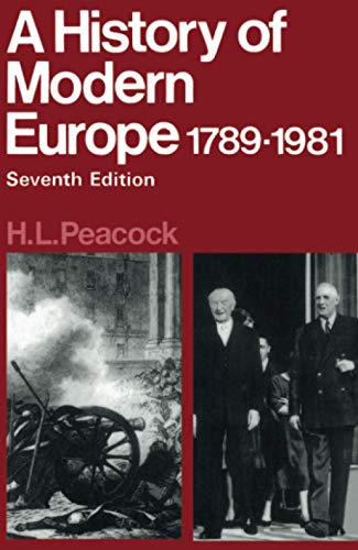 9780435317201: Hist Modern Europe 1789-1981
