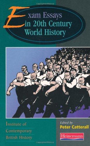 9780435319342: Exam Essays In Twentieth Century World History