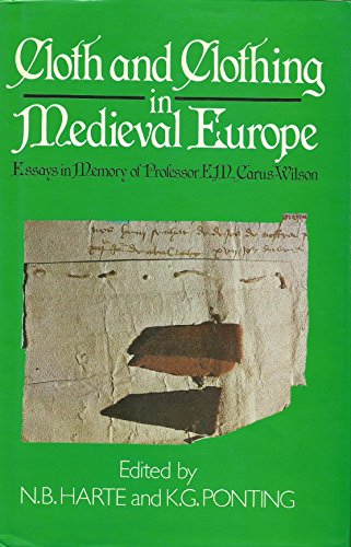 9780435323820: Cloth and Clothing in Medieval Europe: Essays in Memory of Professor E. M. Carus-Wilson