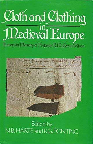 9780435323820: Cloth and Clothing in Medieval Europe: Essays in Memory of Professor E. M. Carus-Wilson (Pasold Studies in Textile History, 2)