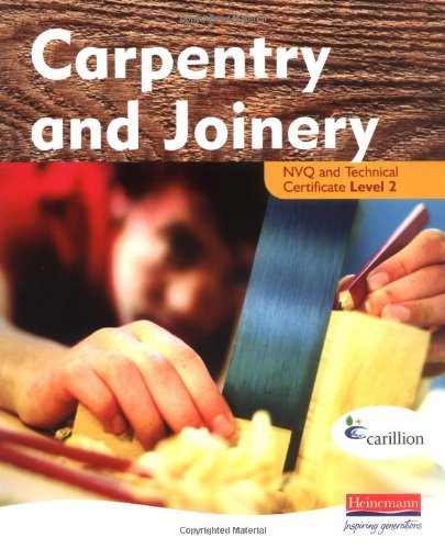 9780435325701: Carpentry and Joinery NVQ Level 2
