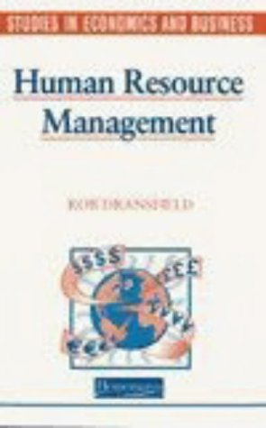 9780435330446: Human Resources Management (Studies in Economics and Business)