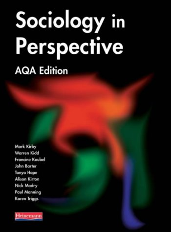 9780435331603: Sociology in Perspective AQA Edition Student Book (Sociology in Perspective for AQA)