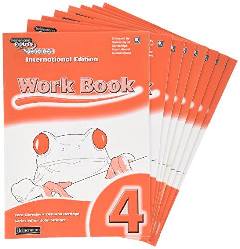 9780435337605: Heinemann Explore Science: Workbook 4 International Edition Pack of 8