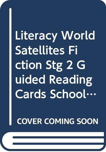 9780435340445: Literacy World Satellites Fiction Stg 2 Guided Reading Cards School Trouble Frwk Sing