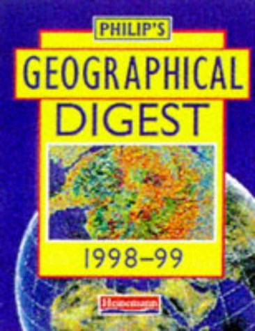 Philip's Geographical Digest 1998-99 (Philips)