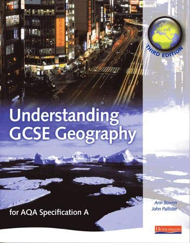 9780435351717: A Understanding GCSE Geography: for AQA specification