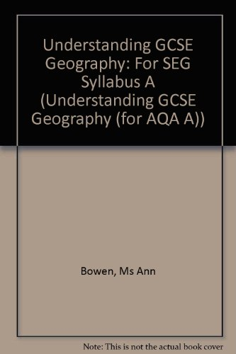 9780435351793: Understanding GCSE Geography for SEG Syllabus A - Teachers Resource Pack (Understanding Geography)