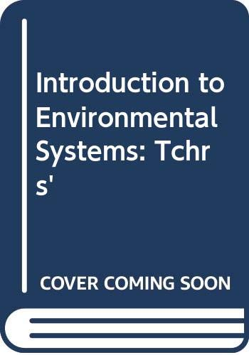 9780435352622: Introduction to Environmental Systems: Tchrs'