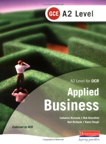 9780435352912: A2 GCE Applied Business: OCR