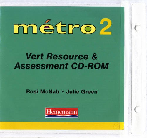 9780435370848: Metro 2 Vert Resource and Assessment File with CD-ROM (Metro for 11-14)