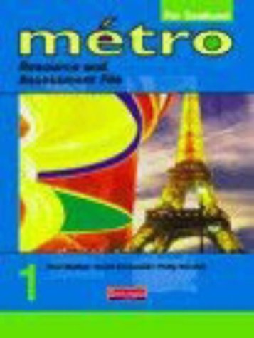 9780435371449: Metro 1 Resource and Asessment File (5-14 Guidelines) (Metro for 11-14)