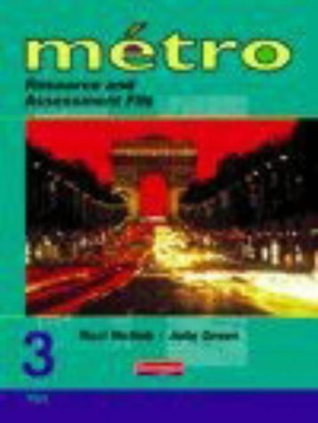 9780435372187: Metro 3 Vert (Foundation) Resource and Assessment File (National Curriculum) (Metro for 11-14)