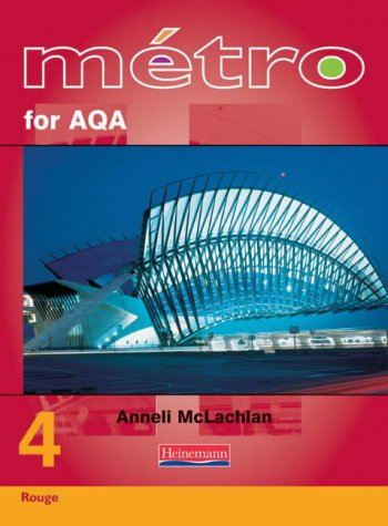 9780435372897: Metro 4 for AQA Higher Student Book