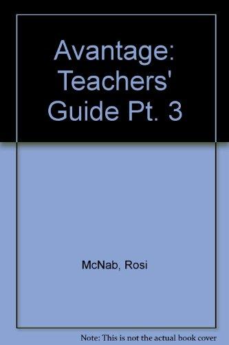 9780435374334: Avantage: Teachers' Guide Pt. 3