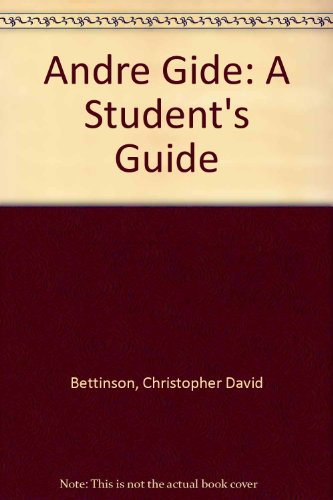 9780435375867: Andre Gide: A Student's Guide